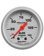 "2-1/16"" AIR PRESSURE, 0-150 PSI, MECHANICAL, ULTRA-LITE"
