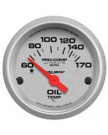 "2-1/16"" OIL TEMPERATURE, 60-170 °C, AIR-CORE, ULTRA-LITE"