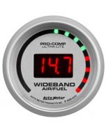 "2-1/16"" WIDEBAND STREET AIR/FUEL RATIO, 10:1-17:1 AFR, ULTRA-LITE"
