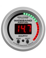 "2-1/16"" WIDEBAND PRO PLUS AIR/FUEL RATIO, 6:1-20:1 AFR, ULTRA-LITE"
