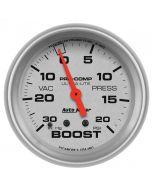"""2-5/8"""" BOOST/VACUUM, 30 IN HG/20 PSI, MECHANICAL, ULTRA-LITE"""