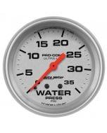 "2-5/8"" WATER PRESSURE, 0-35 PSI, MECHANICAL, ULTRA-LITE"