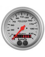 "3-3/8"" SPEEDO, 225 KM/H, GPS, ULTRA-LITE"