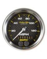 "3-3/8"" GPS SPEEDOMETER, 0-140 MPH, CARBON FIBER"