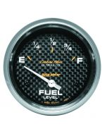 "2-5/8"" FUEL LEVEL, 0-90 Ω, AIR-CORE, SSE, CARBON FIBER"