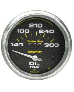 "2-5/8"" OIL TEMPERATURE, 140-300 °F, AIR-CORE, CARBON FIBER"