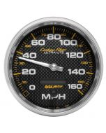 "5"" SPEEDOMETER, 0-160 MPH, ELECTRIC, CARBON FIBER"