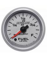 """2-1/16"""" FUEL LEVEL, PROGRAMMABLE 0-280 Ω, STEPPER MOTOR, ULTRA-LITE II"""