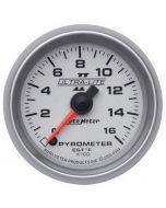 """2-1/16"""" PYROMETER, 0-1600 °F, STEPPER MOTOR, ULTRA-LITE II"""