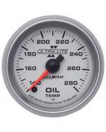 """2-1/16"""" OIL TEMPERATURE, 140-280 °F, STEPPER MOTOR, ULTRA-LITE II"""
