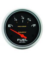 """2-5/8"""" FUEL LEVEL, 0-90 Ω, AIR-CORE, GM, SSE, PRO-COMP"""