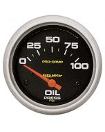 "2-5/8"" OIL PRESSURE, 0-100 PSI, AIR-CORE, PRO-COMP"