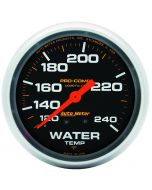 "2-5/8"" WATER TEMPERATURE, 120-240 °F, 6 FT., MECHANICAL, LIQUID FILLED, PRO-COMP"