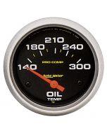 """2-5/8"""" OIL TEMPERATURE, 140-300 °F, AIR-CORE, PRO-COMP"""