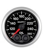 """2-1/16"""" OIL TEMPERATURE, 100-260 °F, STEPPER MOTOR, ELITE"""