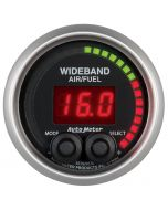"2-1/16"" WIDEBAND PRO AIR/FUEL RATIO, 6:1-20:1 AFR, ELITE"