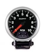 "3-3/4"" PEDESTAL TACHOMETER, 0-10,000 RPM, ELITE"