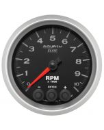 "3-3/8"" IN-DASH TACHOMETER, 0-10,000 RPM, ELITE"