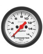 "2-1/16"" PYROMETER, 0-1600 °F, STEPPER MOTOR, PHANTOM"