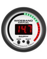 """2-1/16"""" WIDEBAND PRO AIR/FUEL RATIO, 6:1-20:1 AFR, PHANTOM"""
