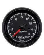 "2-1/16"" PYROMETER, 0-1600 °F, STEPPER MOTOR, ES"