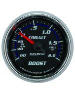 "2-1/16"" BOOST/VACUUM, 60 CM/HG-2.0 BAR, MECHANICAL, COBALT"