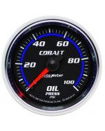 "2-1/16"" OIL PRESSURE, 0-100 PSI, MECHANICAL, COBALT"