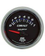 "2-1/16"" OIL PRESSURE, 0-7 BAR, AIR-CORE, COBALT"
