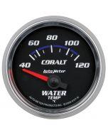 """2-1/16"""" WATER TEMPERATURE, 40-120 °C, AIR-CORE, COBALT"""