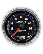 """2-1/16"""" PYROMETER, 0-1600 °F, STEPPER MOTOR, COBALT"""