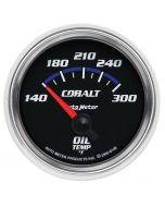 """2-1/16"""" OIL TEMPERATURE, 140-300 °F, AIR-CORE, COBALT"""