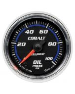 "2-1/16"" OIL PRESSURE, 0-100 PSI, STEPPER MOTOR, COBALT"