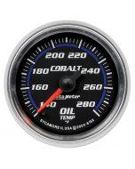 "2-1/16"" OIL TEMPERATURE, 140-280 °F, STEPPER MOTOR, COBALT"