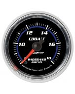 "2-1/16"" WIDEBAND AIR/FUEL RATIO, ANALOG, 8:1-18:1 AFR, COBALT"
