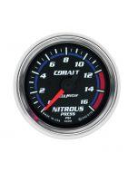 "2-1/16"" NITROUS PRESSURE, 0-1600 PSI, STEPPER MOTOR, COBALT"