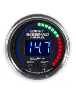 "2-1/16"" WIDEBAND PRO AIR/FUEL RATIO, 6:1-20:1 AFR, COBALT"