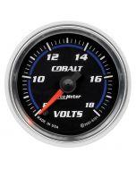 """2-1/16"""" VOLTMETER, 8-18V, DIGITAL STEPPER MOTOR, COBALT"""