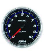 "5"" IN-DASH TACHOMETER, 0-10,000 RPM, COBALT"