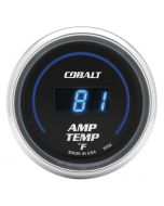 """2-1/16"""" AMPLIFIER TEMPERATURE, 0-250 °F, COBALT"""