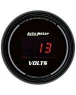 """2-1/16"""" VOLTMETER, 8-18V, SPORT-COMP DIGITAL"""