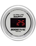 "2-1/16"" BOOST/VACUUM,30 IN HG/30 PSI, ULTRA-LITE DIGITAL"