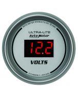 """2-1/16"""" VOLTMETER, 8-18V, ULTRA-LITE DIGITAL"""