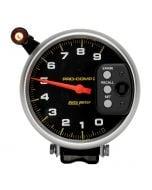 "5"" TACHOMETER, 0-9000 RPM, PEDESTAL W/ QUICK LITE & PEAK MEMORY, PRO-COMP"