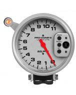 """5"""" TACHOMETER, 0-11,000 RPM, PEDESTAL W/ QUICK LITE, W/PEAK MEMORY, ULTRA-LITE"""