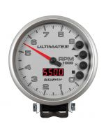 "5"" TACHOMETER, 0-9000 RPM, PEDESTAL, ULTIMATE III PLAYBACK, SILVER"