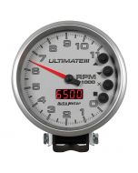 "5"" TACHOMETER, 0-11,000 RPM, PEDESTAL, ULTIMATE III PLAYBACK, SILVER"