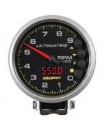 "5"" TACHOMETER, 0-9000 RPM, PEDESTAL, ULTIMATE III PLAYBACK, BLACK"