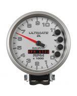 "5"" TACHOMETER, 0-11,000 RPM, PEDESTAL, ULTIMATE DL PLAYBACK, SILVER"