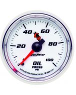 "2-1/16"" OIL PRESSURE, 0-100 PSI, MECHANICAL, C2"
