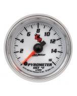 "2-1/16"" PYROMETER, 0-1600 °F, STEPPER MOTOR, C2"